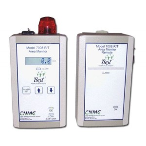 Remote Alarm Unit with 50 Foot Cable for Radiation Area Monitor, Model 7008 RT