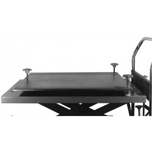 Leveling Plate, 27 Inch Wide, for the 27.75 Inch Wide Hydraulic Scissor Lift Table