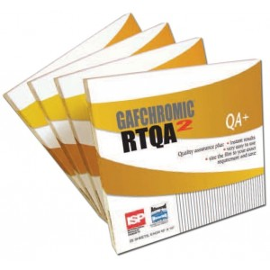 Gafchromic Film, RTQA2-111, 1.25 x 11 Inch, for Brachytherapy Source Positioning
