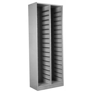Block Storage Cabinet, 34 Trays Size, 12 1/2 Inch to 13 Inch