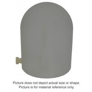 8MV Polystyrene Build-Up Cap - 0.6cc Farmer Chamber