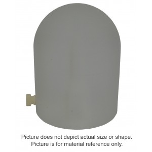 15MV Polystyrene Build-Up Cap - 0.6cc Farmer Chamber