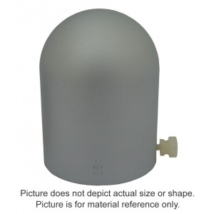 8MV Aluminum Build-Up Cap - 0.3cc Semiflex Chamber