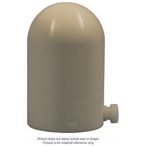 6MV Plastic Water Build-Up Cap - Capintec PR-06C, PR-06G