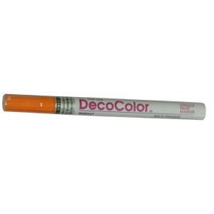DecoColor Paint Markers, Fine Tip, Orange