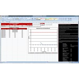 Logging Spreadsheet Software Package, for Model 9DP, Pressurized Ion Chamber Meter