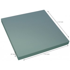 Styrofoam Blocks 3/4 x 11.5 x 11.5 Inch, 25 PSI, Box of 60