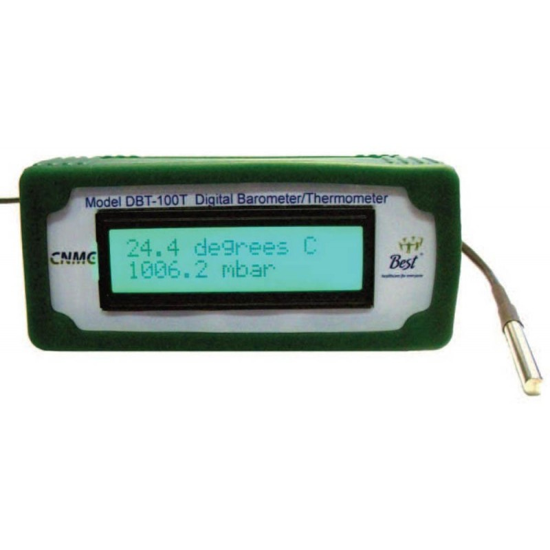 Bench Top Precision Digital Barometer/Thermometer ...