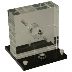 Mini Phantom, 5 Seed Calibration with Leveling Platform