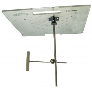Tray Post with Swivel Clamp 13cm, for Lead Eye / Ear Shield