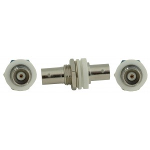 Coax BNC Female to BNC Female Panel Mount Connector