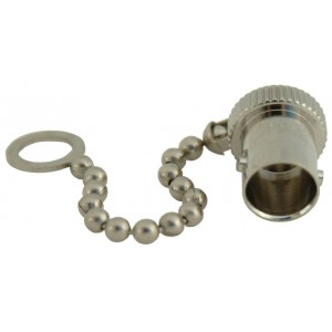 Female Dust Cap for BNC-M and Male Center Pin