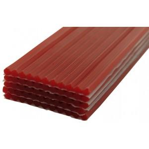 Red Rope Wax, 3/16 Inch Diameter x 11 Inch Long