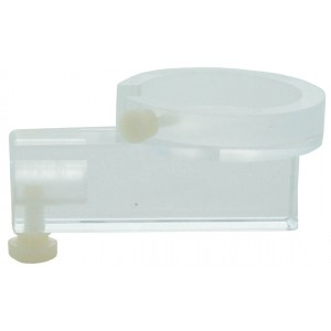Acrylic Chamber Holder, for PTW Roos, Wellhoffer PPC40 and PPC 035