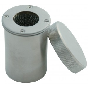 Sterilization Vial for Radioactive Seeds, Stainless Steel
