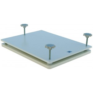 Leveling Plate, with Support Panel, for Water Phantom Tanks