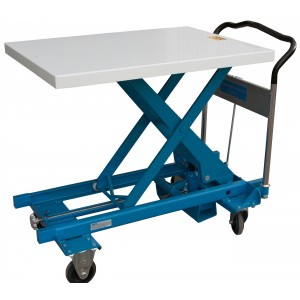 Hydraulic Scissors Lift Table, 23.75 Inch Wide x 36 Inch Long