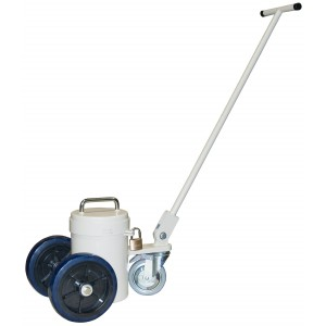 Lead Shielded Cart with Cover for PET Vials
