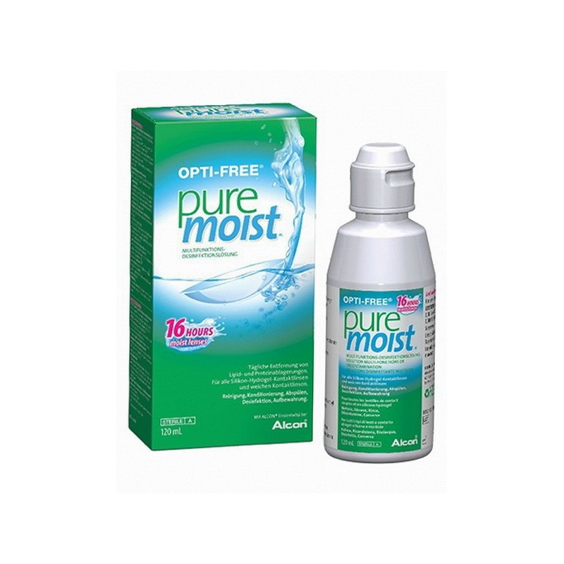 opti free pure moist contact lens solution 4 ounce. Black Bedroom Furniture Sets. Home Design Ideas