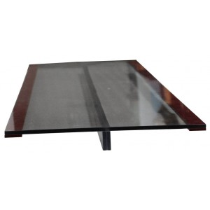 CT / PET Table Insert for GE, with Foam Rubber Edging