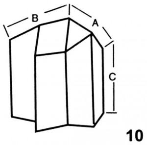 Reverse Corner for Base Interlocking Lead Brick