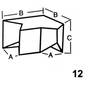 Reverse Corner for Top Interlocking Lead Brick