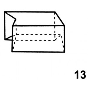 End Top, Right Hand Interlocking Lead Brick