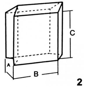 Standard Base Interlocking Lead Brick