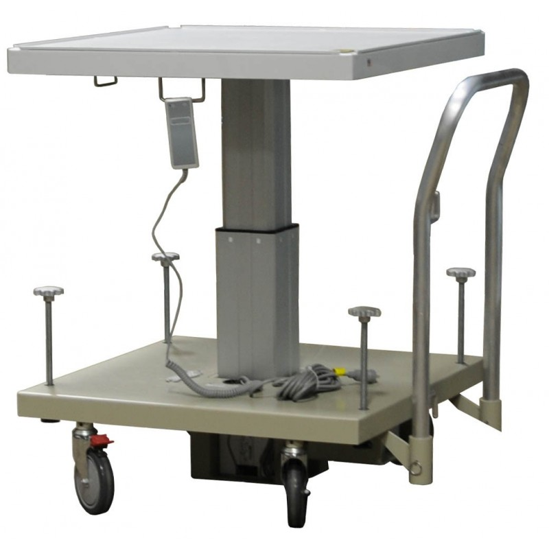 Electric lift table 120vac 50 60 hz radiation products Motorized table