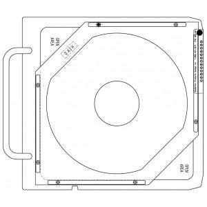 Wedge Tray Flattening Filter for TBI, 6 MeV, Varian MLC