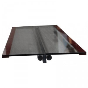 CT / PET Table Insert for GE, with Foam Rubber Edging, and Magnification and Density Rods