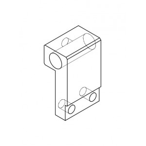 PTW Water Tank Chamber Holder for PTW 31002, 0.125cc Semiflex Chamber