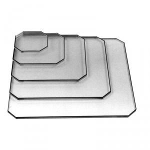 Varian II non MLC Acrylic Drawing Plate, 6cm x 10cm
