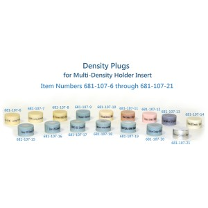 Bone 800mg/cc Density Plug, for Multi Density Holder Insert