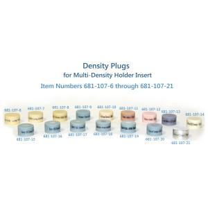 Titanium Density Plug, for Multi Density Holder Insert