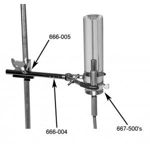 Mini Scatter Phantom for Exradin A12 Chamber, Polystyrene