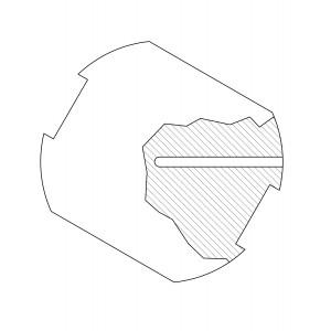 Drilling for Capintec PR05P, in Gamma Knife Phantom Plate