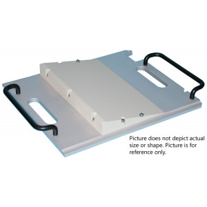 Equinox Lead Wedge Tray, 60 Degree, 25cm x 43cm