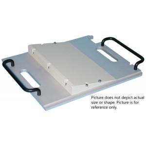 Equinox Lead Wedge Tray, 60 Degree, 25cm x 43cm