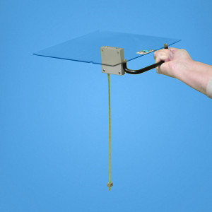 Retractable Tape Measure Tray, for Varian Clinic, No Coding