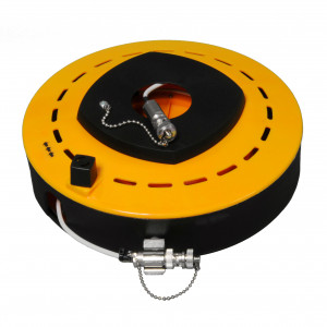 40 Foot (12 Meter), Triax Cable Reel, Hub is TNC-F/M and Extended is TNC-M/F