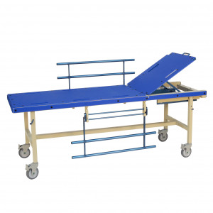 MR Conditional/TBI/HDR Bed with Fowler 0-60°