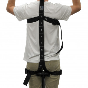 Safety Harness for Rotational Total Body Irradiation (TBI) Stand