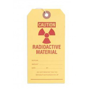 Radioactive Material Tags