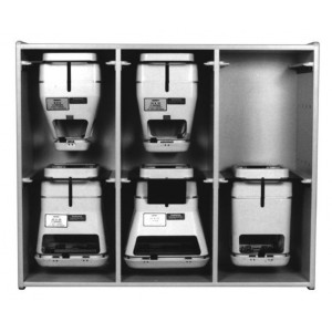 Electron Cone Wall Shelf, Holds 6 Varian Type II (non MLC) or III (with MLC) Electron Cones