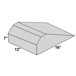 Covered Foam Torso Block