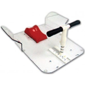 Extended Butterfly Board with T-Bar Handle, in Polycarbonate