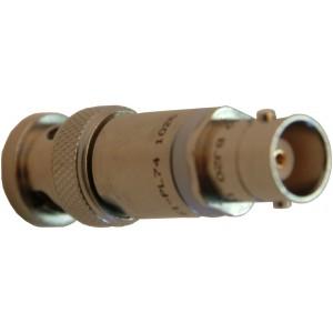 Coax BNC-F to Triax BNC-M Connector Adaptor