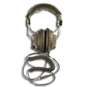 Headphones with Audio Jack Output, for Model 9DP, Pressurized Ion Chamber Meter