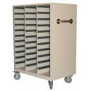 Storage Cart for Varian Brass Compensators